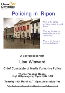 Policing in Ripon poster